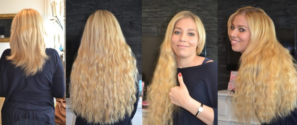 Bild von Haarverlängerung mit Extensions