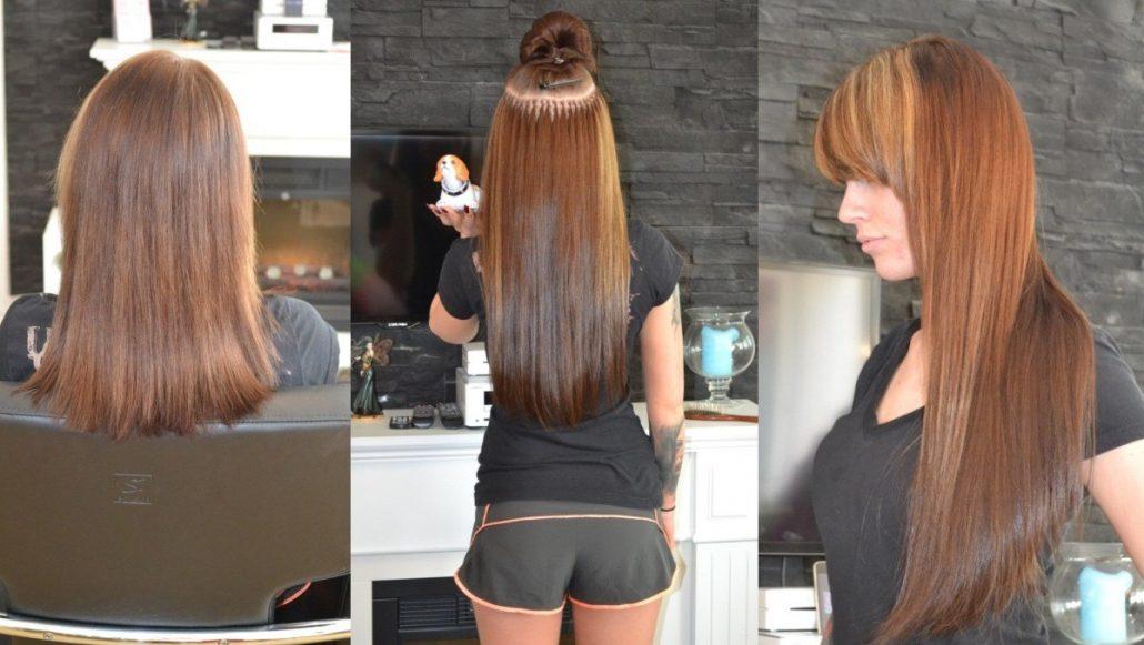 Bild von Kosten für Haarverlängerung