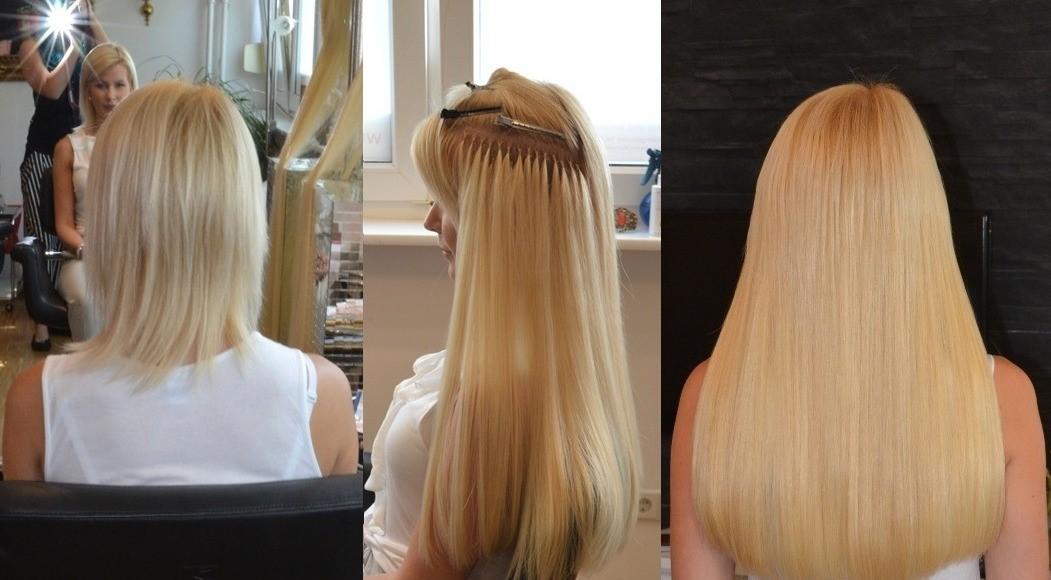 Bild von Preis für Haarverlängerung