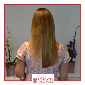 Bild von Haarverlängerung