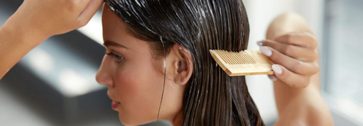 Bild von Haarverlängerung pflegen