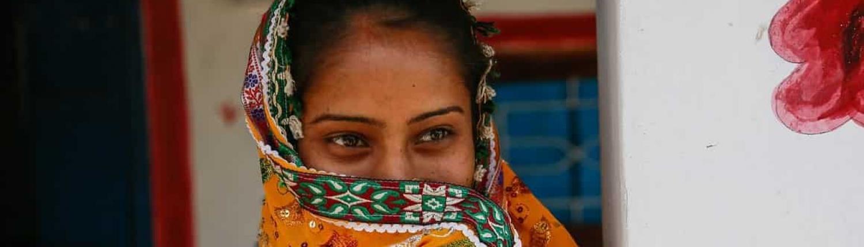Bild von indischen Haaren