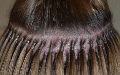 Bild von Haarverlängerung brasilianische Methode Stuttgart